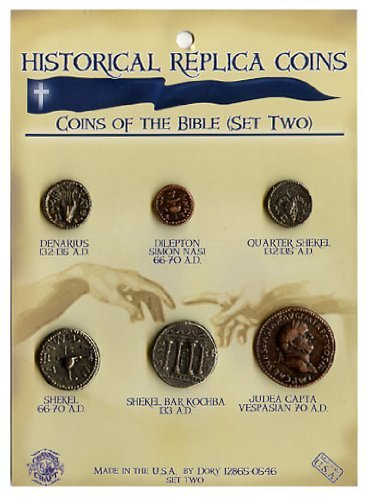 Replica Coins from the Bible - New Testament (Set Two) - Historical Coins