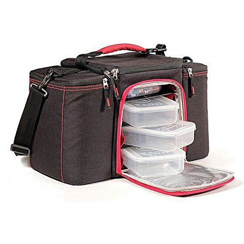 Innovator Insulated Meal Management Bag, Pink, 300 (3 Meals) by 6 Pack Fitness (Image #3)