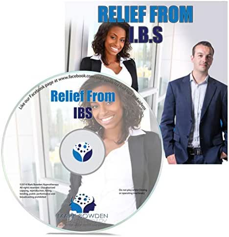Relief from Irritable Bowel Syndrome Self Hypnosis CD / MP3 and APP (3 IN 1 PURCHASE!) - Ease Symptoms of IBS Using the Power of Your Mind With This Hypnotherapy CD