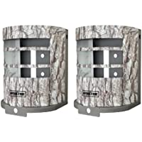 (2) MOULTRIE MCA-12665 Panoramic Game Camera Security Boxes | Fits P150 & P150i