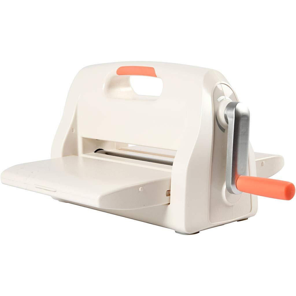 Troqueladora y máquina de troquelar, A4, 21 x 30 cm, hoja de 21 cm de ancho máximo, 1 unidad