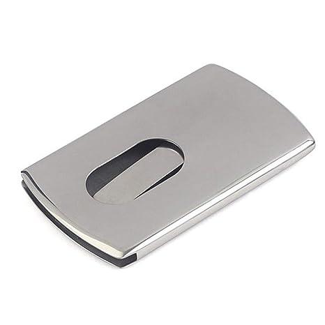 SM SunniMix Caja de Tarjeta Visita de Acero Organizador IDs ...
