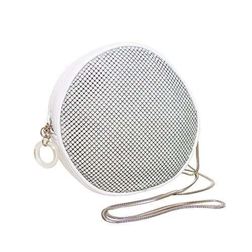 whiting-davis-round-bag