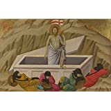 high quality polyster Canvas ,the Replica Art DecorativePrints on Canvas of oil painting 'Ugolino di Nerio The Resurrection ', 12 x 18 inch / 30 x 47 cm is best for Gym decoration and Home decoration and Gifts