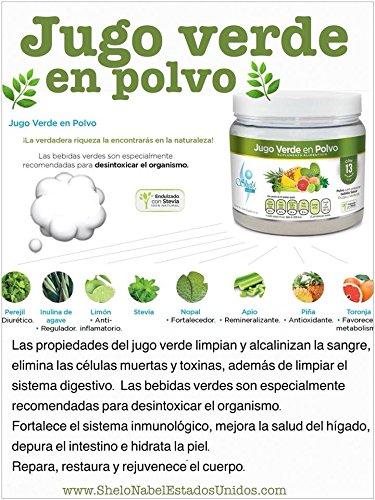 Amazon.com: Jugo Verde en Polvo / Green Juice Powder: Health & Personal Care