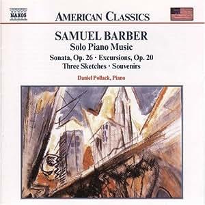 Barber: Solo Piano Music