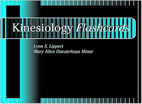 Download Kinesiology Flashcards PDF, azw (Kindle), ePub