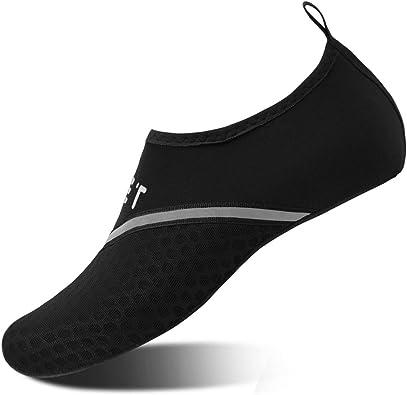 eyeones Womens Water Shoes-Barefoot Water Shoes Women Quick-Dry Aqua Socks Beach Swim Surf Yoga Exercise Slip On Surfing Quick Dry Water Shoes