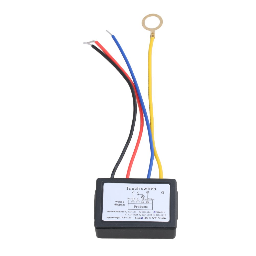 Bqlzr Home On Off Xd615 Touch Switch 6 12v Dc For Led Lamp Amazon Wiring Diagram Spielzeug