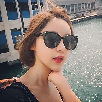 Sunyan Mujeres Coreanas black frame gafas Gafas de sol gafas ...
