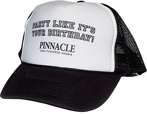 Pinnacle Vodka Trucker Baseball Hat Black
