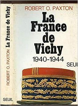 Book La France de Vichy, 1940-1944