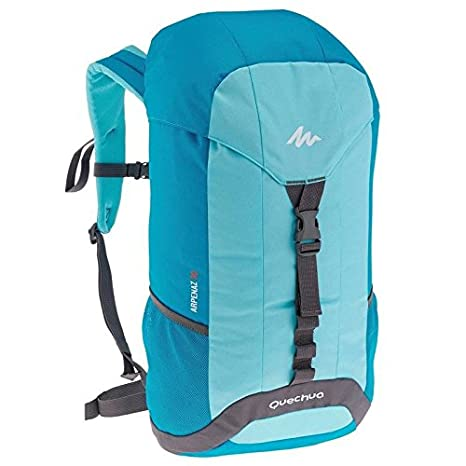 0cc46eda05 QUECHUA NH100 30-l Zaino da Escursionismo - Azzurro: Amazon.it ...