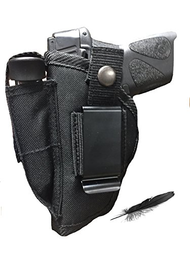 Feather Lite Fits Sig Sauer P-230, P232 Has Soft Nylon, Inside or Outside The Pants Gun Holster.