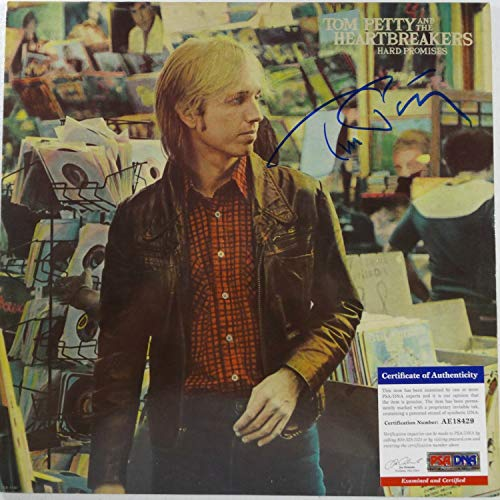 Autographed Signed Memorabilia Tom Petty Autographed Signed Memorabilia Lp 12 Hard Promises Certified PSA/DNA Ae18429