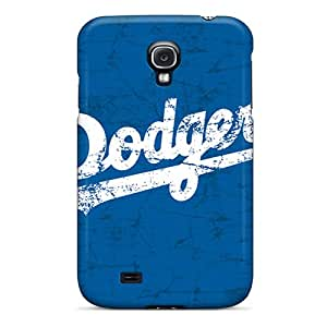 Samsung Galaxy S4 KTT13012vOZr Custom Trendy Los Angeles Dodgers Pattern Bumper Cell-phone Hard Cover -JasonPelletier