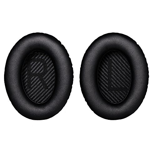 Bingle Ear Cushions Replacement Ear Pads for Bose Quiet Comfort 35 (QC35) and QuietComfort 35 II (QC35 II) Headphones with Shell Mats