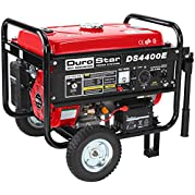 Generators DuroStar 4400 Watt Quiet Portable Electric Start RV Gas Power Generator DS4400E