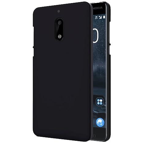huge discount 2965e 96b4b Solimo Nokia 6 Mobile Cover (Hard Back & Slim),Black