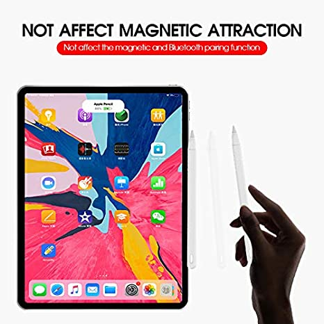 Soporte de Silicona Suave Antideslizante para iPad Pro CTGVH Funda de Silicona para Apple Pencil de 2/ª generaci/ón