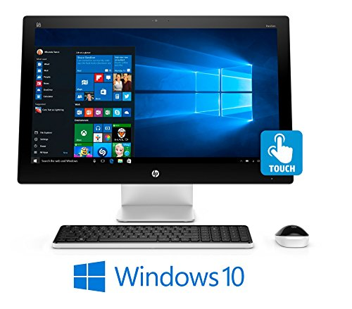 UPC 646791345878, HP Pavilion 23 Full HD Touchscreen, Intel Core i3-6100T, Win 10, All-in One PC