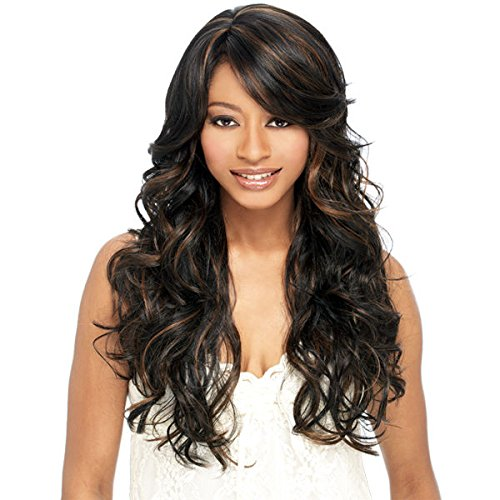 DREAM GIRL (P1B/30) - FREETRESS EQUAL BAND FULL CAP SYNTHETIC WIG LONG - Dream Wig