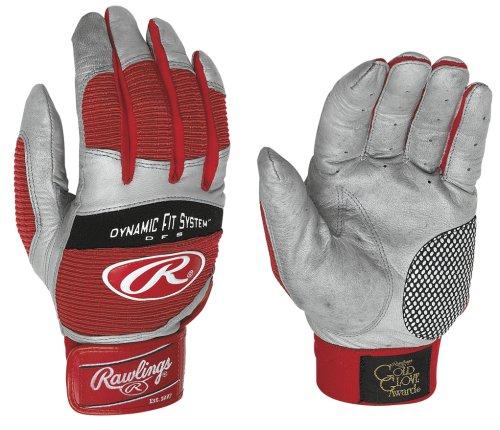 Rawlings Workhorse Adult Batting Gloves (Black,XL)
