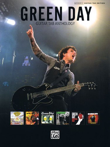 - Green Day Guitar Tab Anthology Authentic Guitar Tab Edition Book by Green Day (2010-05-01)