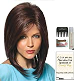 JACKSON by Noriko Wig, 15 Page Christy's Wigs Q & A Booklet, Wig Shampoo, Wig Cap & Wide Tooth Comb - Color: CREAMY TOFFEE-R