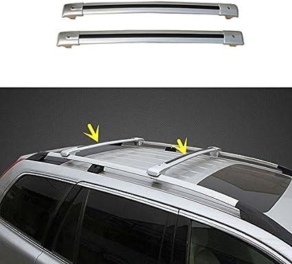 Pour Chevrolet Trax Galerie Porte Bagage Aluminium noir rambarde porteur 2x TÜV Abe