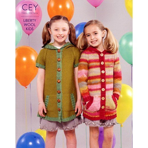 Classic Elite Pattern Book 9197 Liberty Wool Kids - Kid Classic Yarn