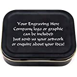 PERSONALISED 1oz TOBACCO TIN FREE ENGRAVING by trophiesuk