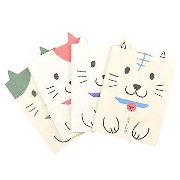 Da.Wa Cuaderno de dibujos animados para gatos para niños ...