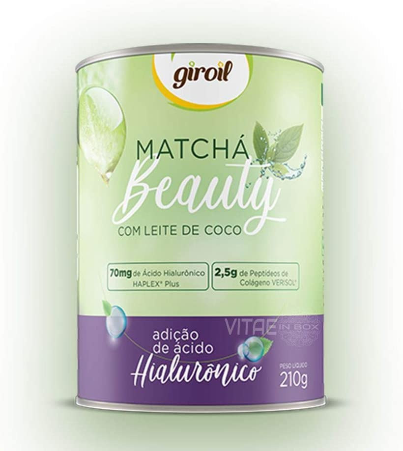 Matchá Beauty Giroil (HA Haplex Plus + Colágeno Verisol) - 210g, Giroil