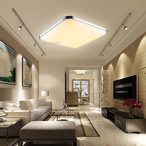 GroBartig HENGDA® 12W LED Deckenleuchte Modern Deckenlampe 2700K 3200K Warmweiß Flur Wohnzimmer  Lampe Schlafzimmer 85V 265V: Amazon.de: Küche U0026 Haushalt