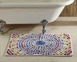 Better Trends Picasso Mosaic Bath Rug