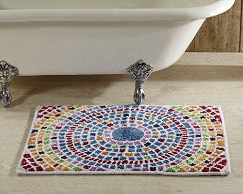 Better Trends Picasso Mosaic Bath Rug by Better Trends
