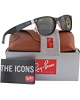 Ray-Ban RB2132 New Wayfarer Sunglasses Shiny...