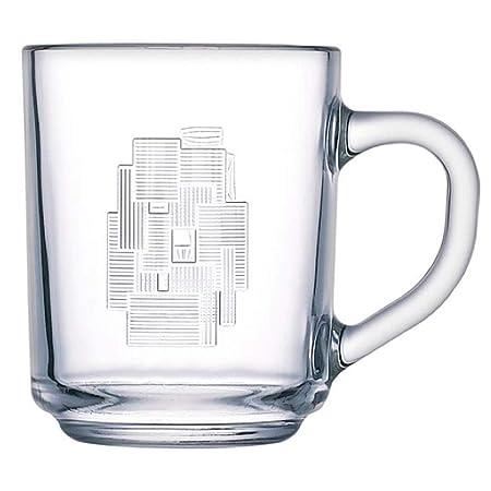 Luminarc 33085 Cubic de 250 ml, Taza de té con asa, para niños ...