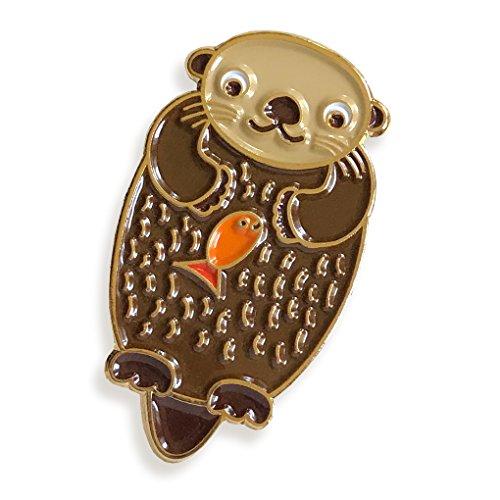 Night Owl Paper Goods Enamel Pin
