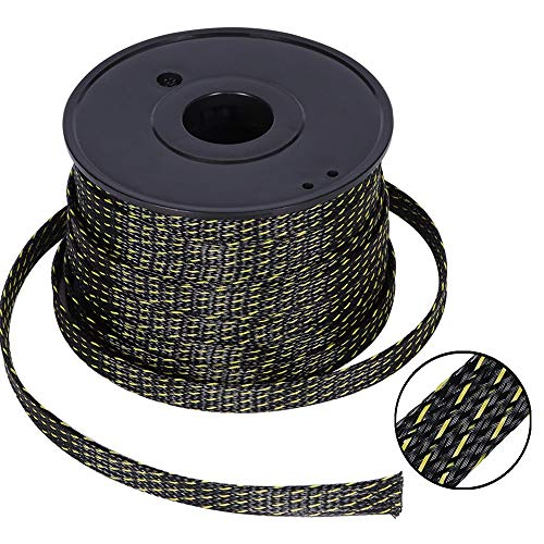 PET Expandable Braided Sleeving 1/2