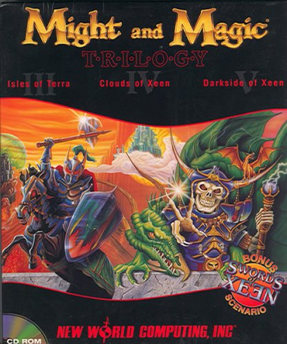 Might and Magic Trilogy: Might and Magic I, II and III (輸入版) B000AD6BQY