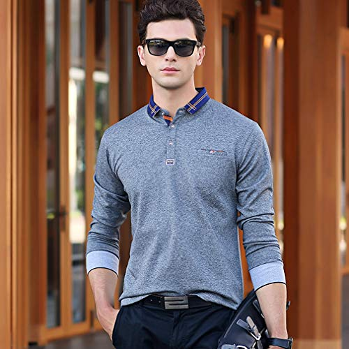 ポロシャツ メンズ 長袖 胸ポケット付き ゴルフウェア ゴルフ 男性用ポロ ビジネス 大きいサイズ 通気性 吸汗速乾