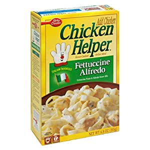 Amazon Com Chicken Helper Fettuccini Alfredo 12 6 8