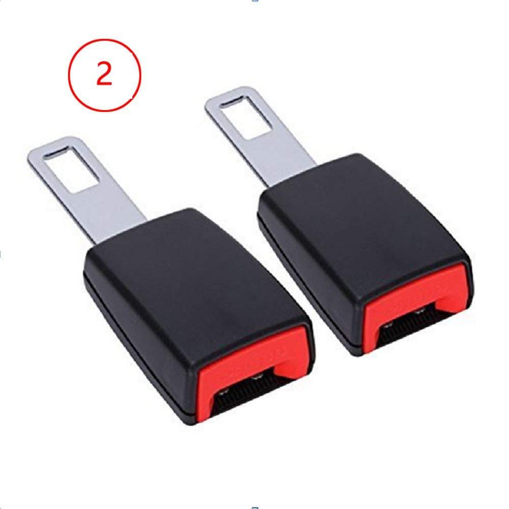 Seggiolino auto universale clip per cintura di sicurezza blocco allarme Canceller anti Warner cinghia pins CBHQUSF-20181011