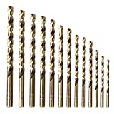Best Drill Bits For Metals - Twist Drill Bit Set (13 pcs), AMOOLO M35 Review