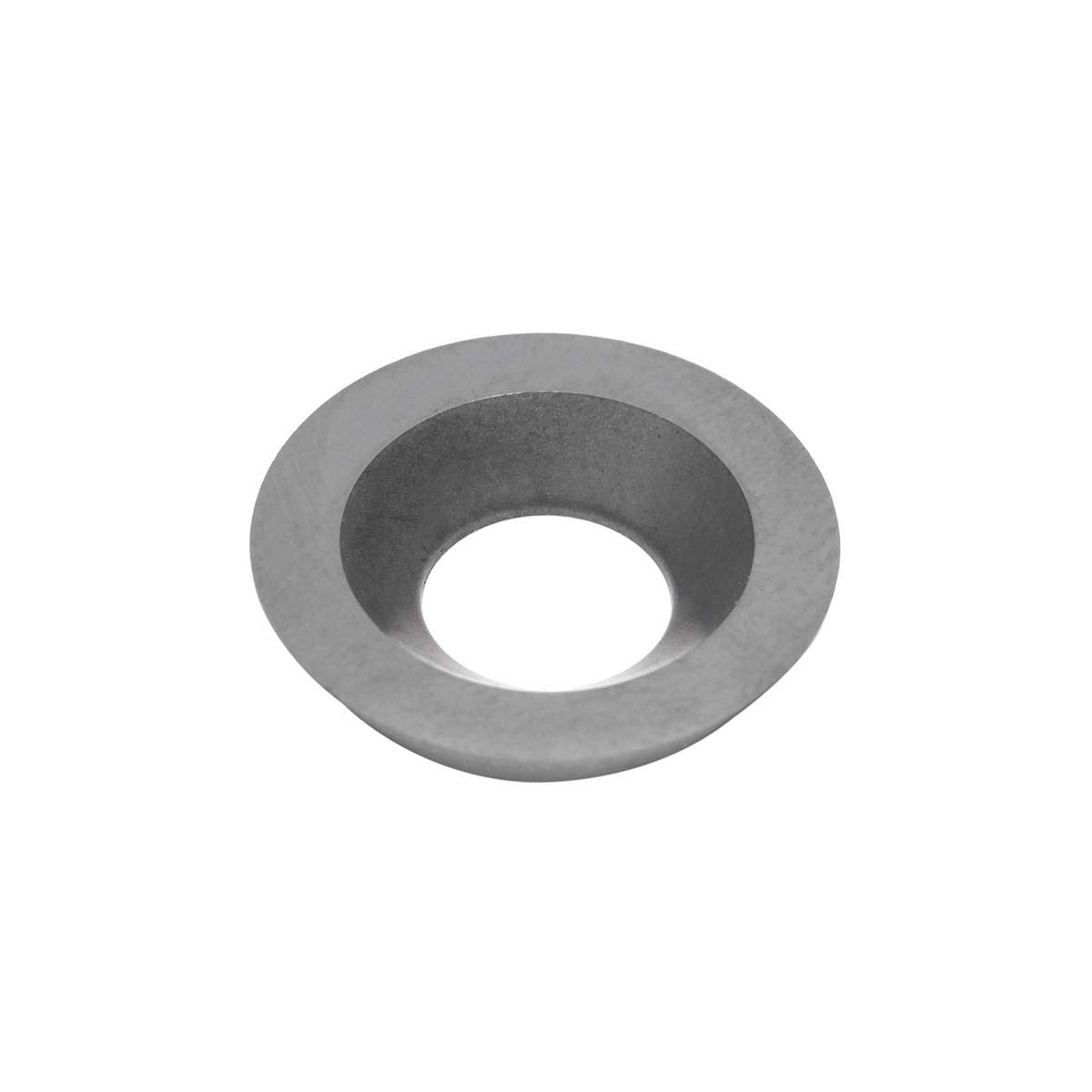 10Pcs 15mm Round Radius Carbide Insert Replace Cutter Insert For Wood Turning Tools - Cutting Tool Carbide Insert - 1X Carbide Insert (10Pcs/Set)