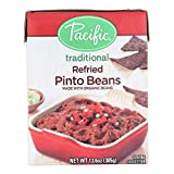 Pacific Natural Foods Refried Pinto Beans - Traditional - Case of 12 - 13.6 oz.