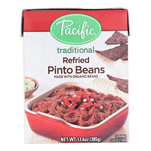 Pacific Natural Foods Refried Pinto Beans - Traditional - Case of 12 - 13.6 oz. by Pacific Natural Foods