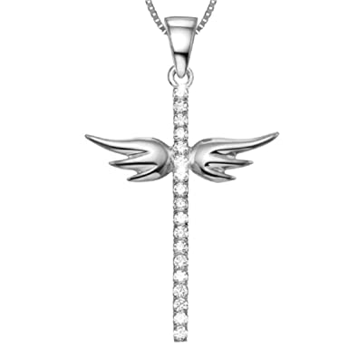 and silver cross il necklace listing sterling au infinity
